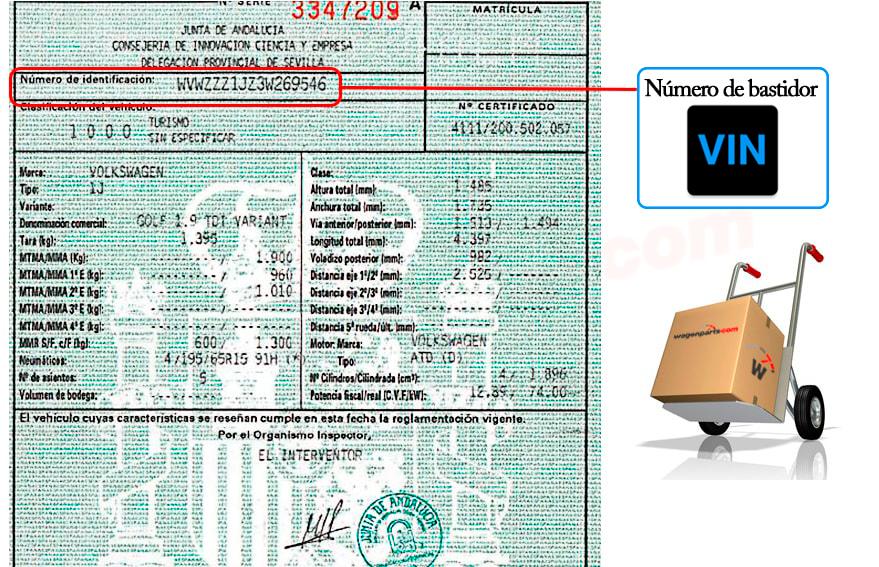 Peticones personalizadas en Recambio ORIGINAL Grupo Volkswagen BMW ...