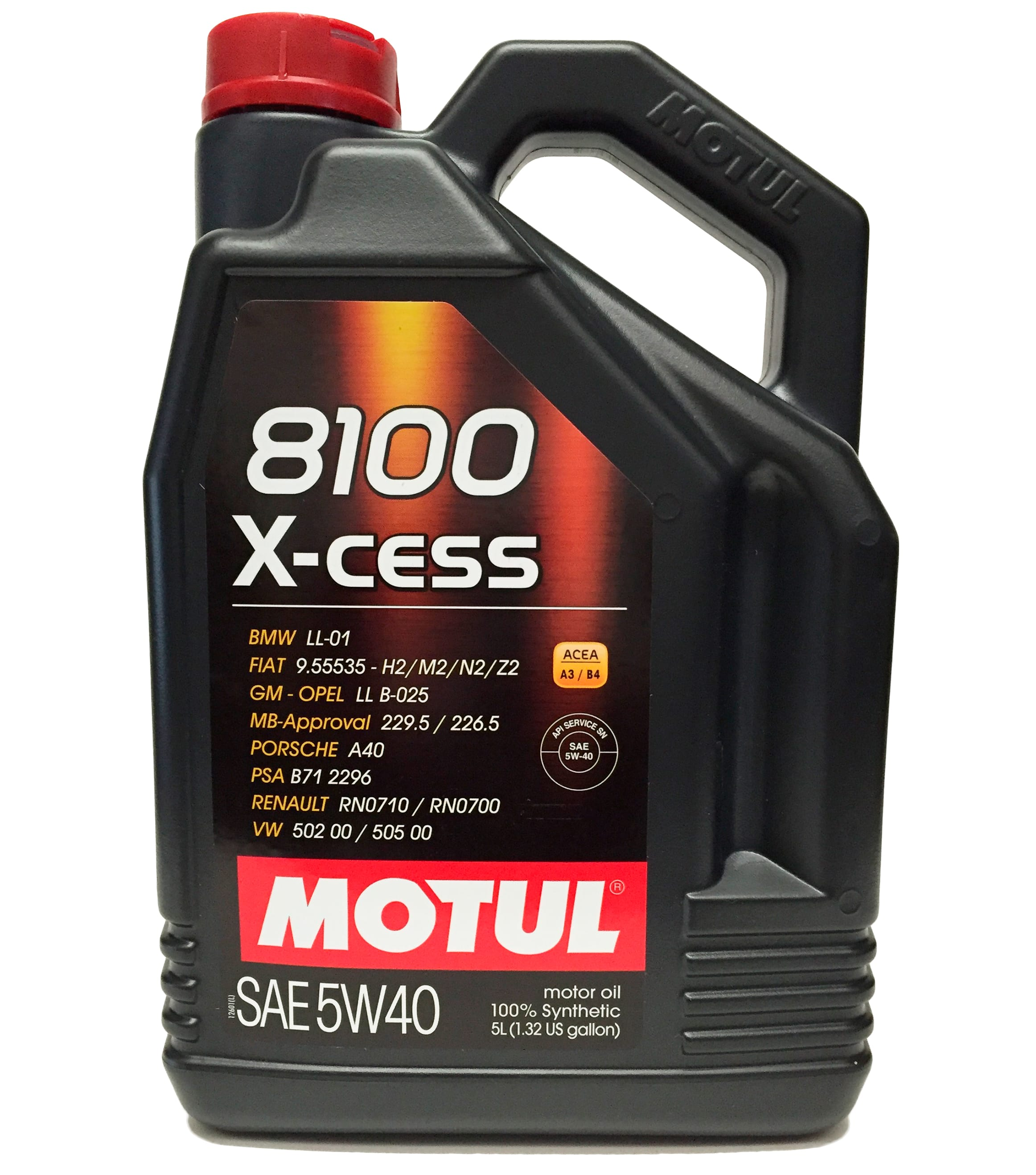motul 8100 x cess 5w 40 5l 102870 tienda de recambios. Black Bedroom Furniture Sets. Home Design Ideas