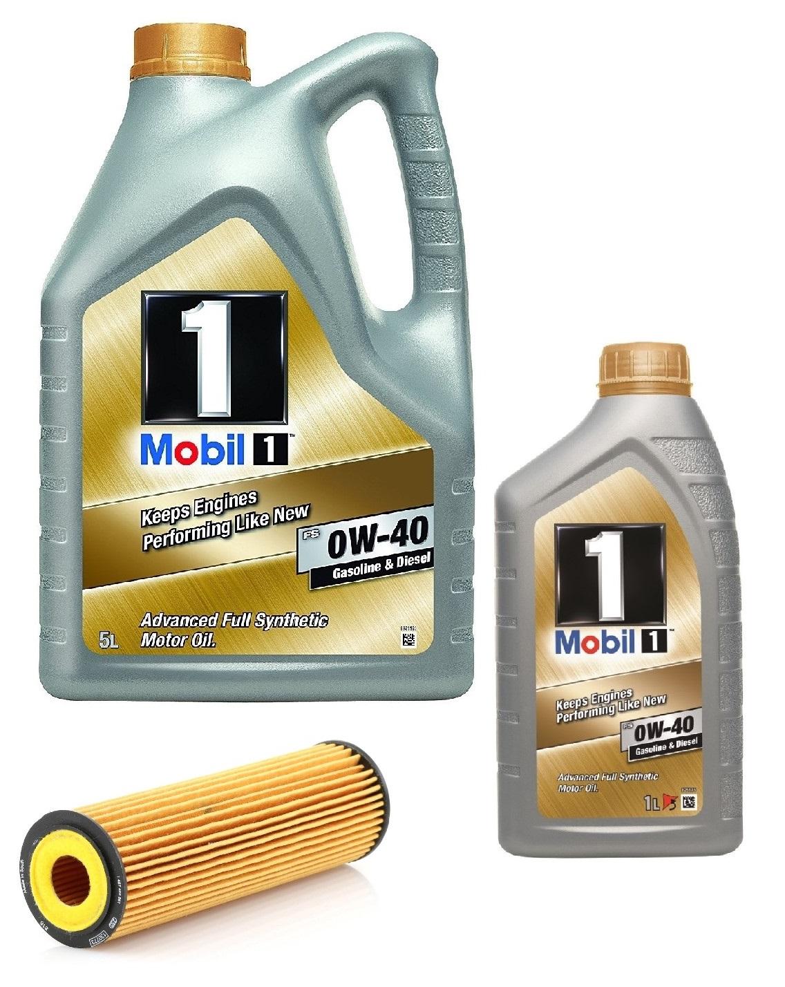 mobil 1 fs 0w40 6 litros filtro aceite fram ch9918eco. Black Bedroom Furniture Sets. Home Design Ideas
